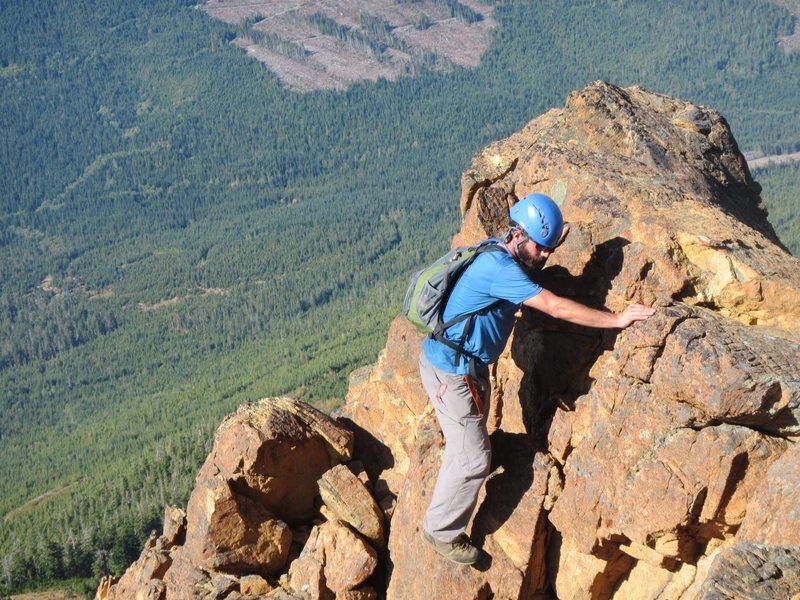 Rock Climbing Photo: Yahooooo