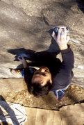 Rock Climbing Photo: Komba on Scratching Post V3