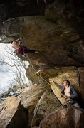 Rock Climbing Photo: Me on Jedi