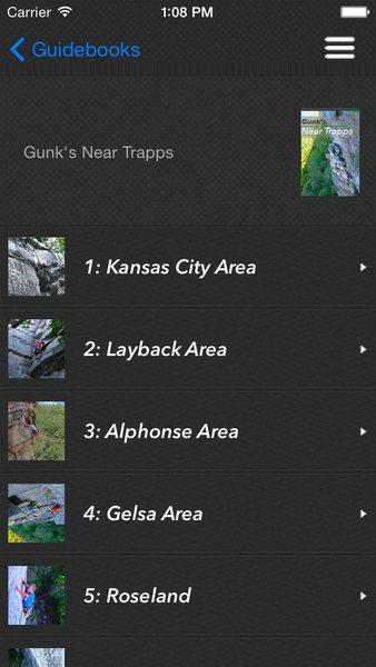 Rock Climbing Photo: Gunks App