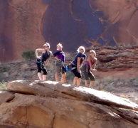 Rock Climbing Photo: Girls Weekend