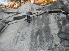 Rock Climbing Photo: No matter which way you go past the bolt, you want...