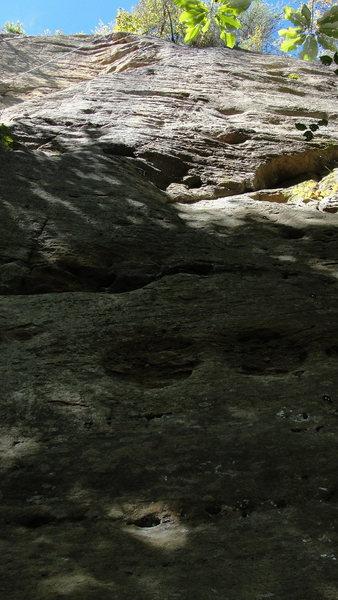 Rock Climbing Photo: October Sky- 11c.