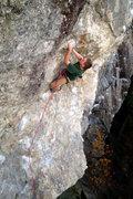Rock Climbing Photo: Eli Buzzel on his send