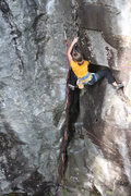 Rock Climbing Photo: torie on the first tricky spot