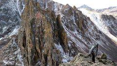 Rock Climbing Photo: The Zodiac Traverse.