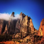 Rock Climbing Photo: The Forge of Dreams: Smith Rock.