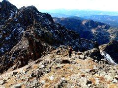 Rock Climbing Photo: General terrain, class 2-5.0.