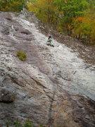 "Rock Climbing Photo: RW on ""First Shot"""