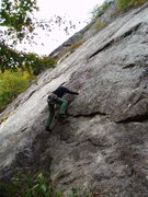 "Rock Climbing Photo: RW on ""Ground Zero"""