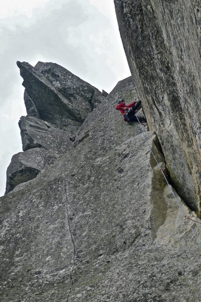Rock Climbing Photo: The tips corner of Kociński