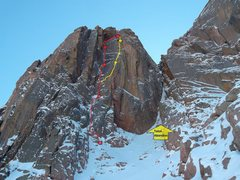 Rock Climbing Photo: Yellow.