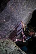 Rock Climbing Photo: Baker running laps on Mean Gurlz