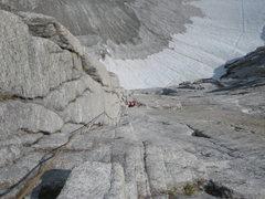 Rock Climbing Photo: P9 - The money pitch