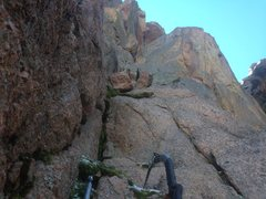 Rock Climbing Photo: Looking up p1.