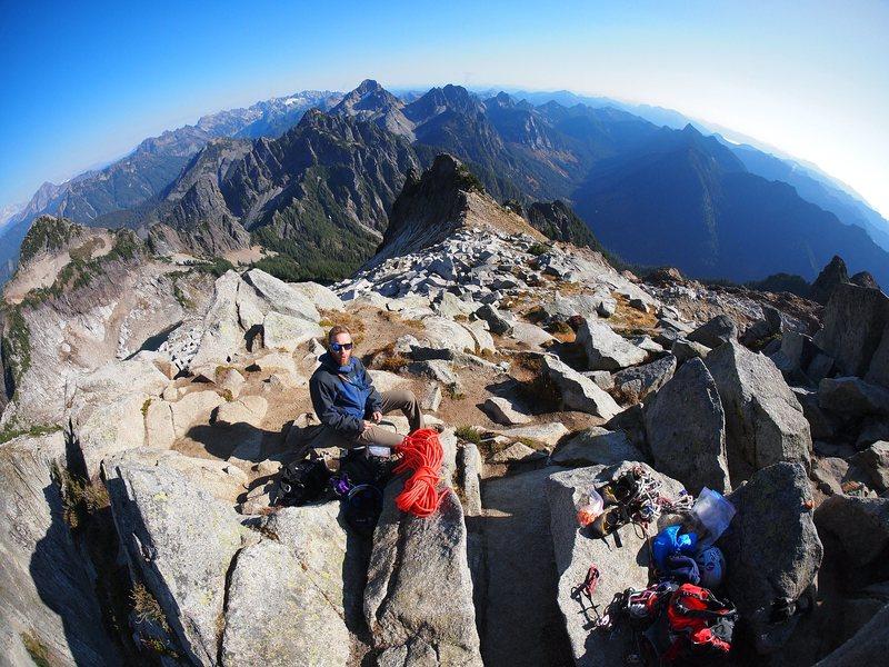 Vesper summit shot