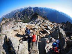 Rock Climbing Photo: Vesper summit shot