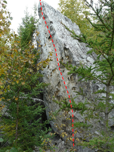 Rock Climbing Photo: Traitement de canal 5.7