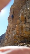 Rock Climbing Photo: The crack is nice
