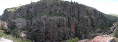 Rock Climbing Photo: Southern Wall - CCG