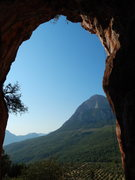Rock Climbing Photo: Sport routes nearby caves
