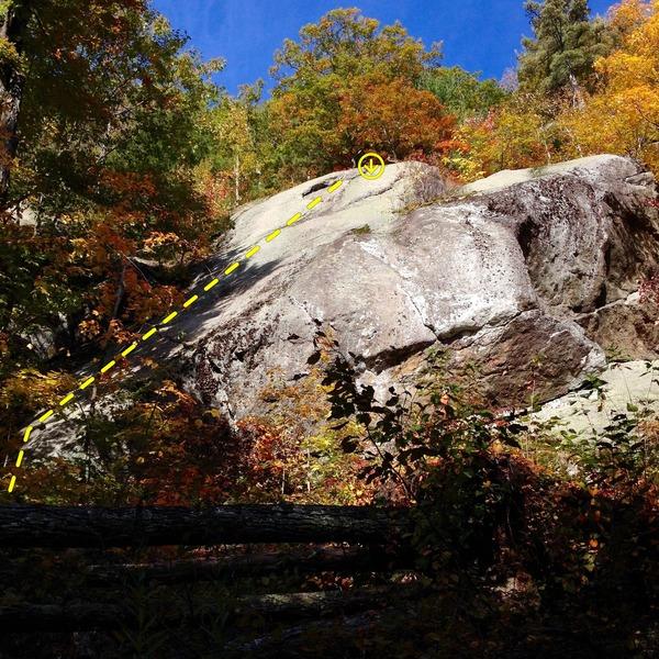 Rock Climbing Photo: Les Glouglous