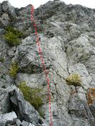 Rock Climbing Photo: Acte de foi 5.11b