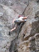 Rock Climbing Photo: Dan on leading Southern Comfort.