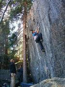 Rock Climbing Photo: C.