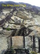 Rock Climbing Photo: Killer route in a hard to access spot