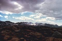 Rock Climbing Photo: Glacier Divide from Humphreys Basin.