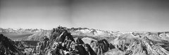Rock Climbing Photo: Main summit of Russell seen from the East Summit.