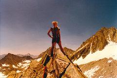 Rock Climbing Photo: On the Southwest Ridge of Treasure Peak