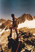 Rock Climbing Photo: On the summit of Treasure Peak.