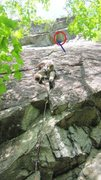 Rock Climbing Photo: Someone else's photo before the block came off.