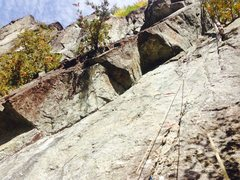 Rock Climbing Photo: My picture from today (10/11/15).