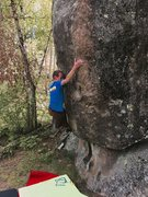 Rock Climbing Photo: Buenos opening moves