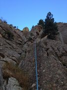 Rock Climbing Photo: On the lower section with a good view of the entir...