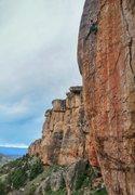 Rock Climbing Photo: Holly Hillenbrand climbs well.