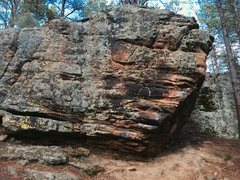 Rock Climbing Photo: Southern Discomfort West Face 1.V1 2.Southern Disc...