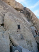 Rock Climbing Photo: Craigers climbing Shock to the System Clean on TR....
