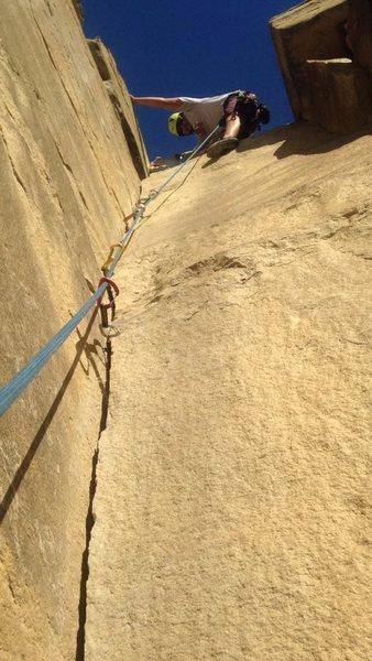 Rock Climbing Photo: ND climbing