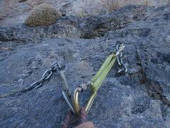 Rock Climbing Photo: Anchor