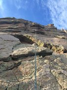 Rock Climbing Photo: Route from the base