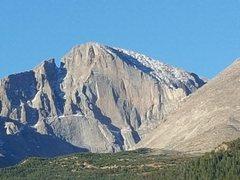 Rock Climbing Photo: The Diamond, morning of 10/12/15