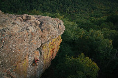 "Rock Climbing Photo: ""Windy Arm Buster""  Sam's Throne"