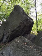 Rock Climbing Photo: Harsh overhang on the right could use a spotter. S...