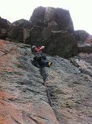 Rock Climbing Photo: K-9 - 5.12- trad.