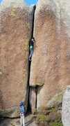 Rock Climbing Photo: Worm Drive.