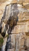 Rock Climbing Photo: Rappelling Real Black Velvet.